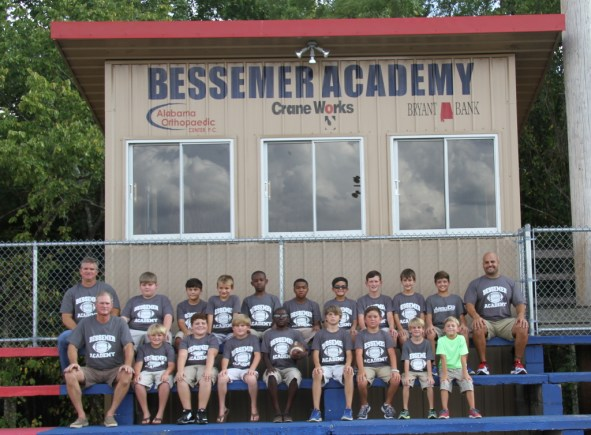 2014-15 PeeWee Football Team Roster