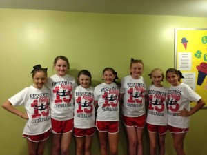 JV Cheerleaders 2