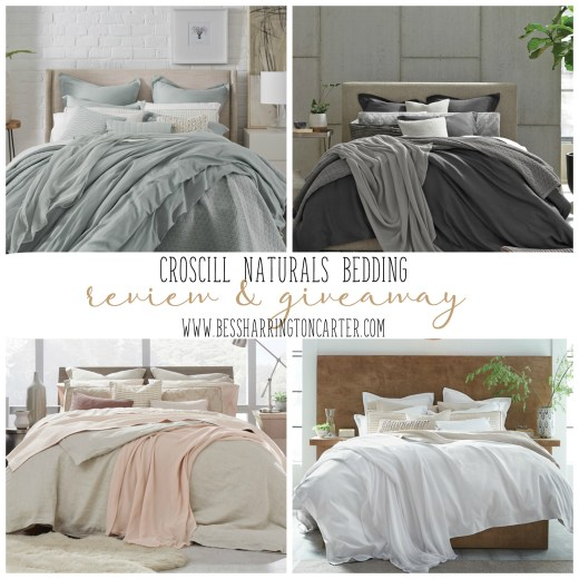 croscill naturals bedding review and giveaway
