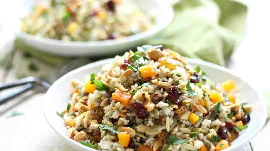 orzo wild rice salad recipe