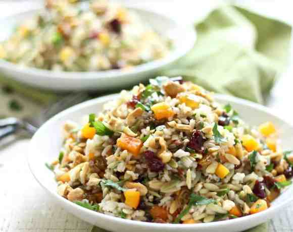 Orzo & Wild Rice Salad