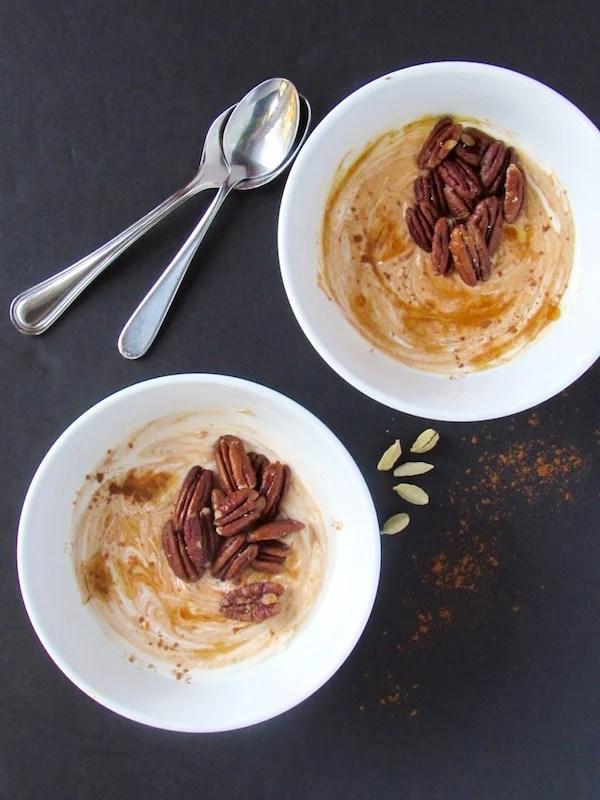 Pumpkin Chai Yogurt