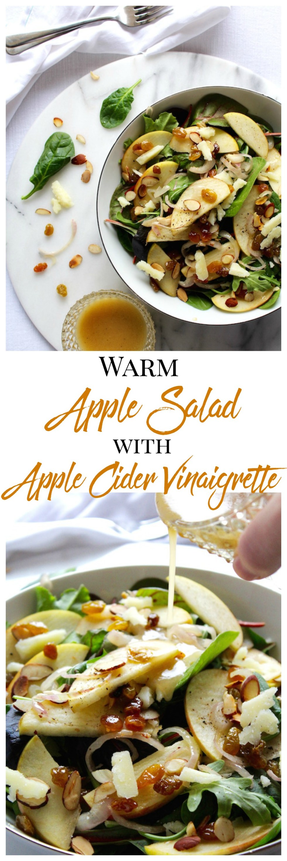 warm apple salad pinterest