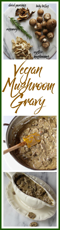Vegan Mushroom Gravy Pinterest