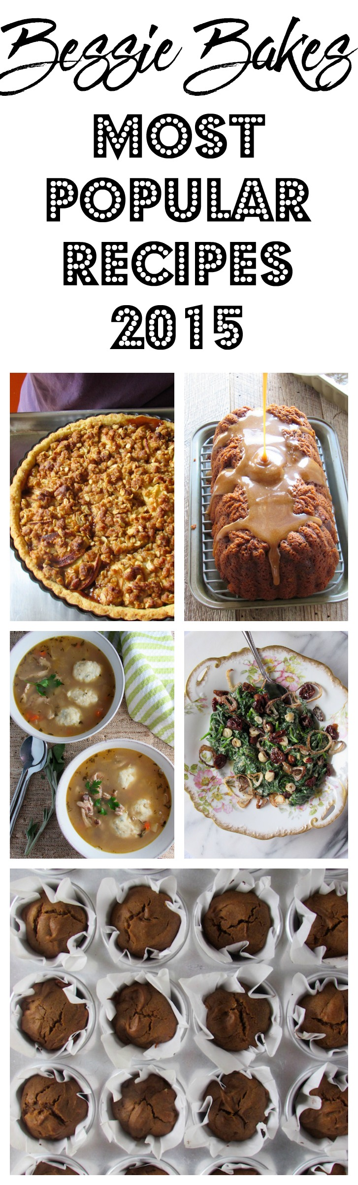 Bessie Bakes Most Popular Recipes 2015