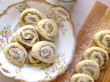 Pistachio rose water cookies are light, flaky, and so exotic!