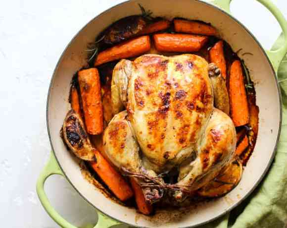 UPSIDE DOWN ROASTED CHICKEN RECIPE