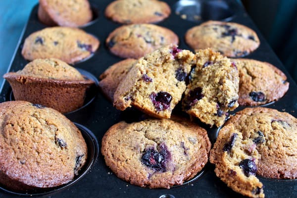 BETTER THAN EVER BLUEBERRY MUFFINS | COCONUT OIL & COCONUT SUGAR