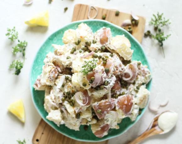 CRÉME FRAÎCHE POTATO SALAD RECIPE
