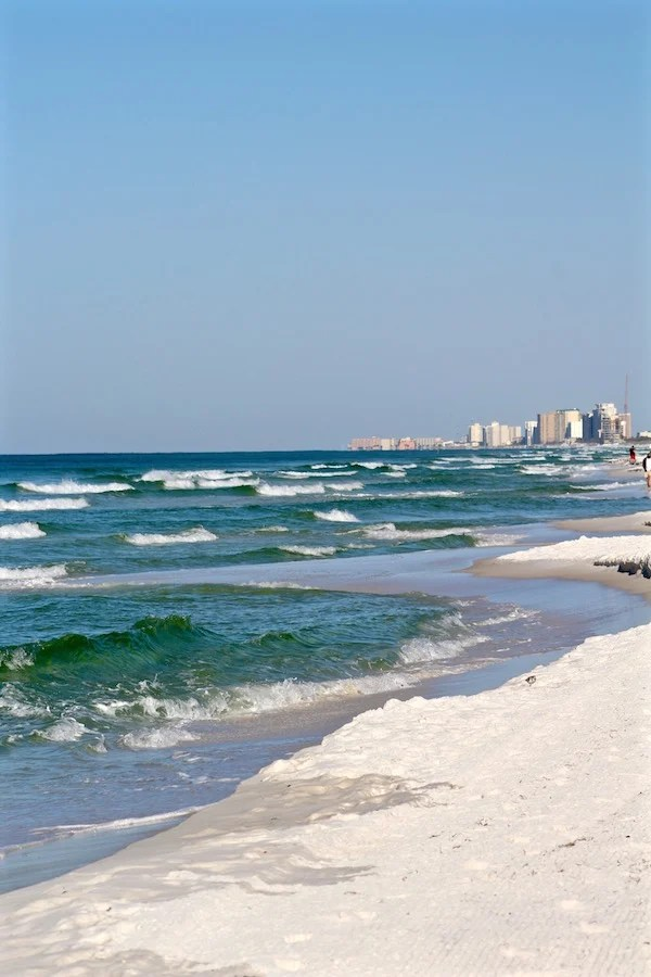 destin florida waves