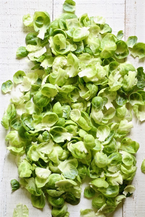 brussel sprouts leaves