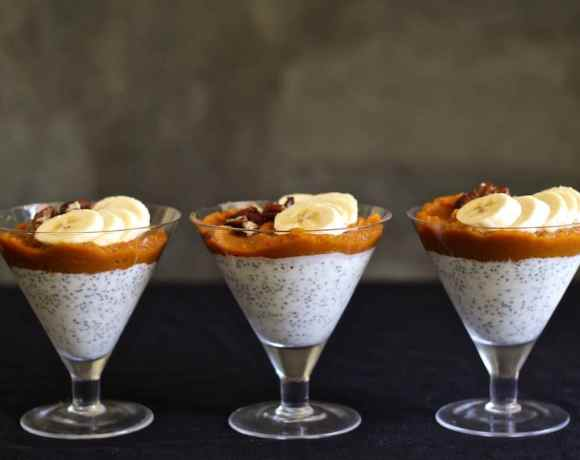 PUMPKIN CHAI CHIA PUDDING RECIPE