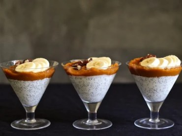 Pumpkin chia chai pudding recipe
