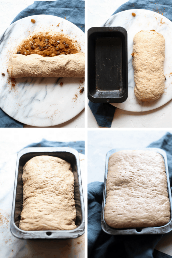 how to shape and proof sourdough cinnamon raisin bread