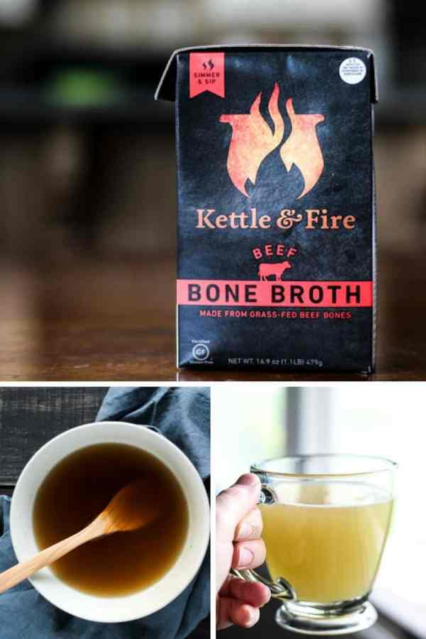 Kettle & Fire Chicken and beef bone broth