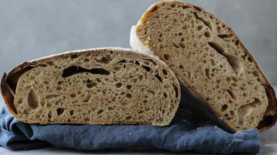 Sourdough Bread Recipe wih step-by-step photos and a video