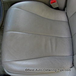 Leather Car Seat Cleaning For Heavy Layers Of Dirt