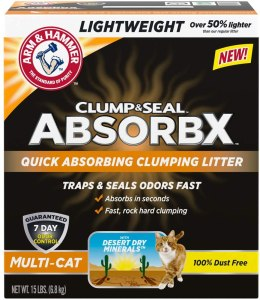 Arm & Hammer Clump & Seal AbsorbX