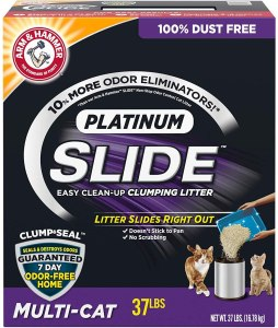 Arm & Hammer Platinum Slide Clumping Cat Litter