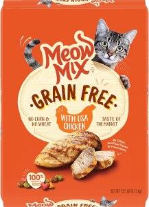 Meow Mix Grain-Free Dry Cat Food
