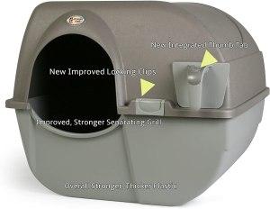 Omega Paw NRA15-1 Roll 'n Clean Litter Box