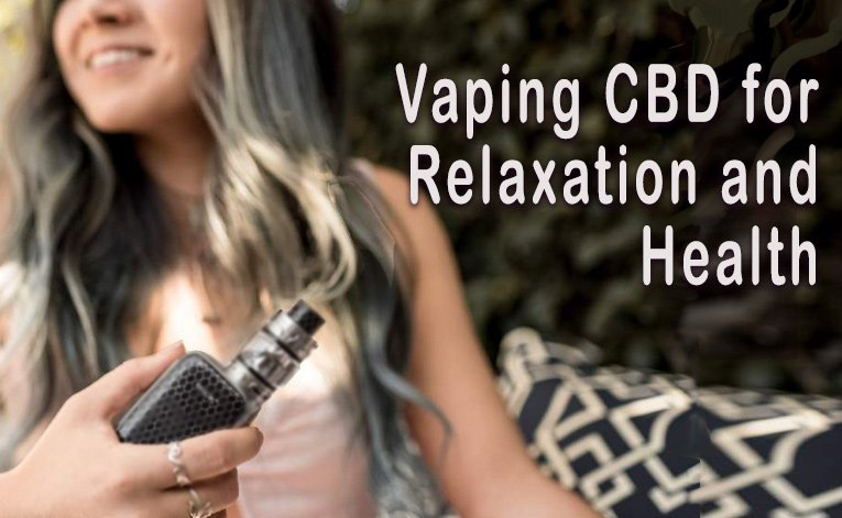 Vaping CBD for relaxation Featured