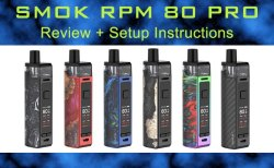 SMOK RPM 80 PRO Review Featured Image