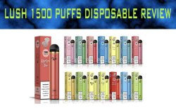 Lush 1500 Puffs Disposable Review - BECG Featured Image