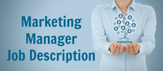 Sample Marketing Manager Job Description