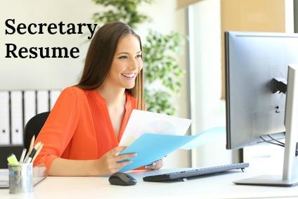 Sample Secretary Job Description