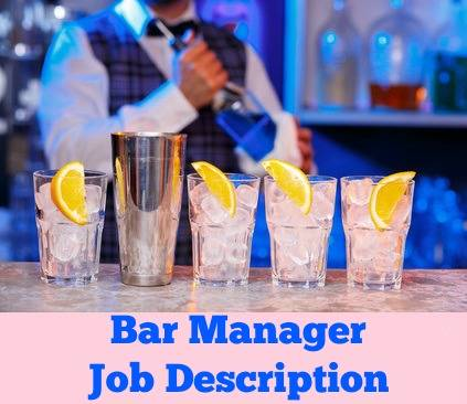 Job Options For A Bar