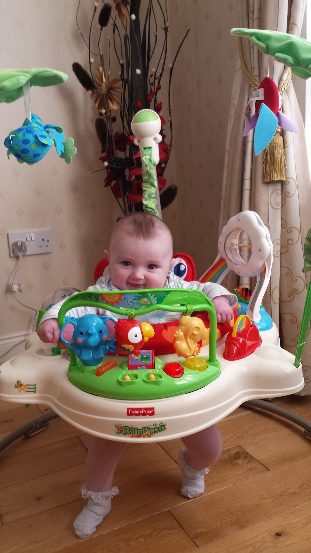 fisher price monkey jumperoo