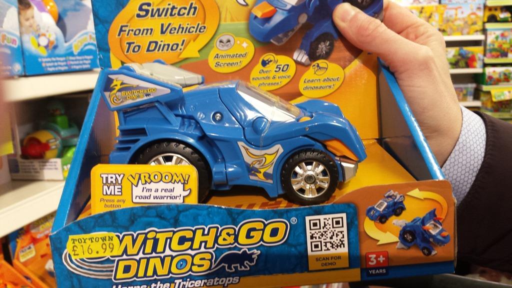 vtech switch go dinos horns triceratops dinosaur