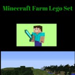 Minecraft Farm Lego Set -best Minecraft toy