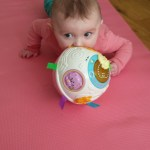 We bought Amelia the Vtech Crawl Learn Ball Pink