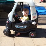 The Little Tikes Police Car Ride On is not just for Boys