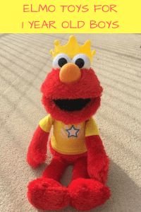 elmo toys for 1 year old boys