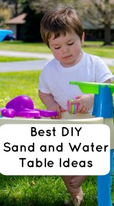 diy sand and water table ideas