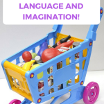Toy Shopping Cart for Toddlers Make Pretend Play Fun