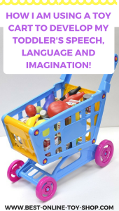 TOY SHOPPING CART FOR TODDLERS