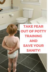 Toddler won't potty train