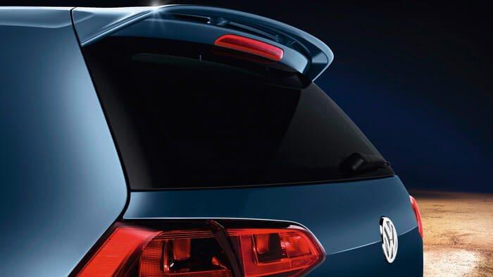 VW Golf VII rear view