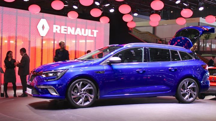Renault Megane at Geneva Auto Salon 2016