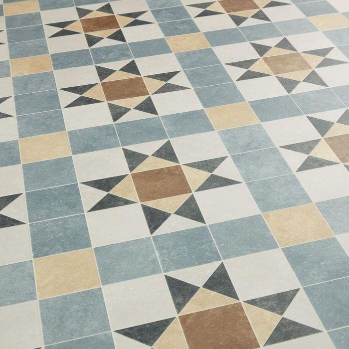 tessellated victorian geometric vinyl flooring era barlow