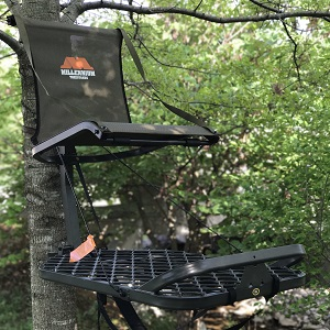 hang on treestand for bowhunting