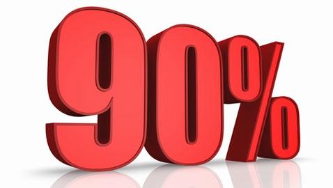 Imagini pentru 90%