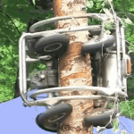 This Insane Tree-Climbing Chainsaw Is An Absolute Beast At Shaving Trees Clean