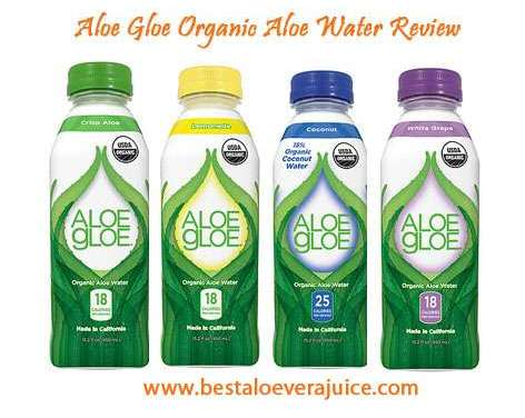 Aloe Gloe Organic Aloe Water Review