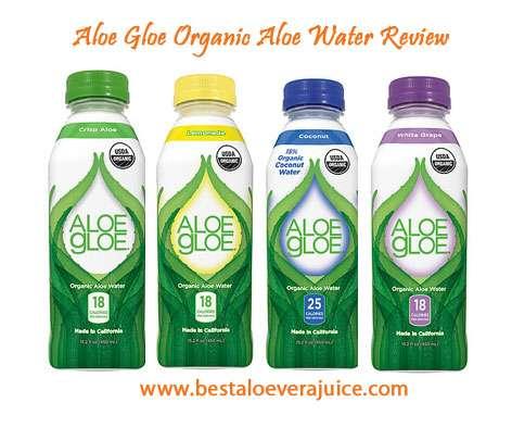 Aloe Gloe Organic Aloe Water Review