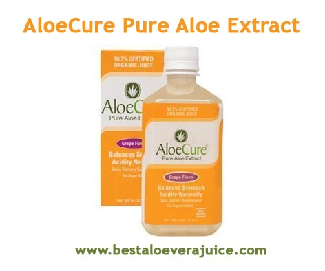 AloeCure Pure Aloe Extract Juice review